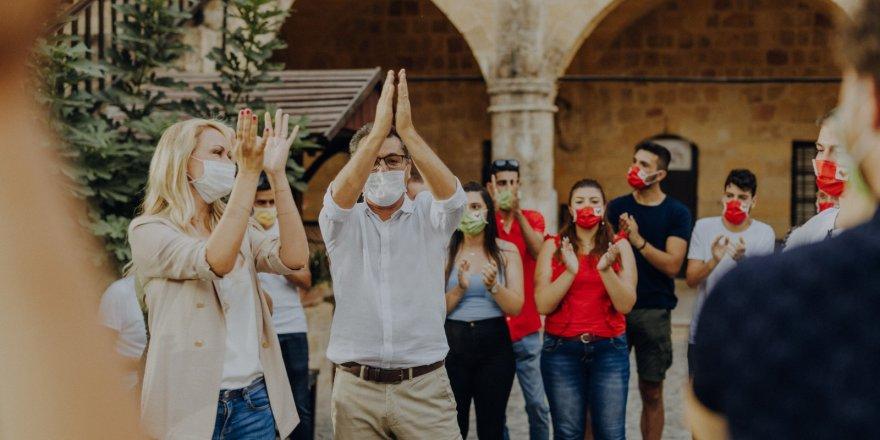 Erhürman'ın Cumhurbaşkanlığı vizyonunu açıklayacağı etkinlik seyircisiz