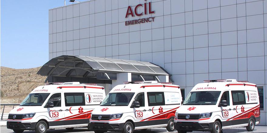 YDÜ hastaneleri Acil Servis hizmetlerini ücretsiz veriyor