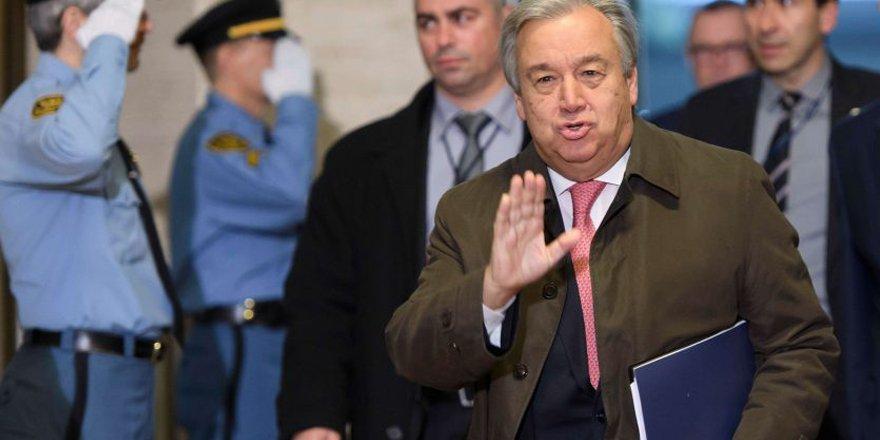 Guterres, 'Ön anlaşma istiyor' iddiası