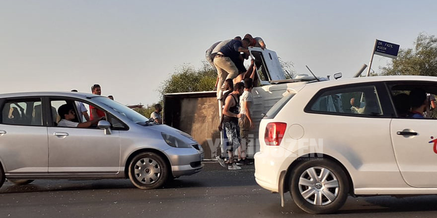 Korkutan kaza: 9 yaralı