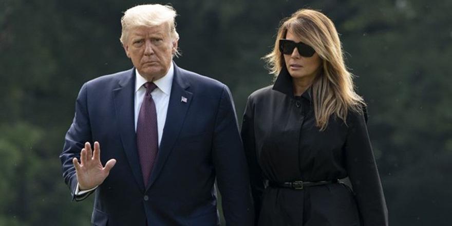 Trump ve eşi Coronavirüse yakalandı