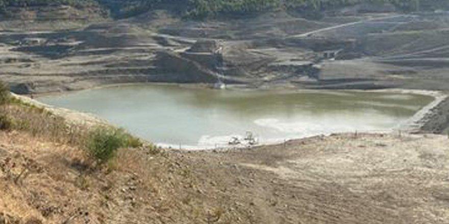 Geçitköy Barajı'na su akmaya başladı