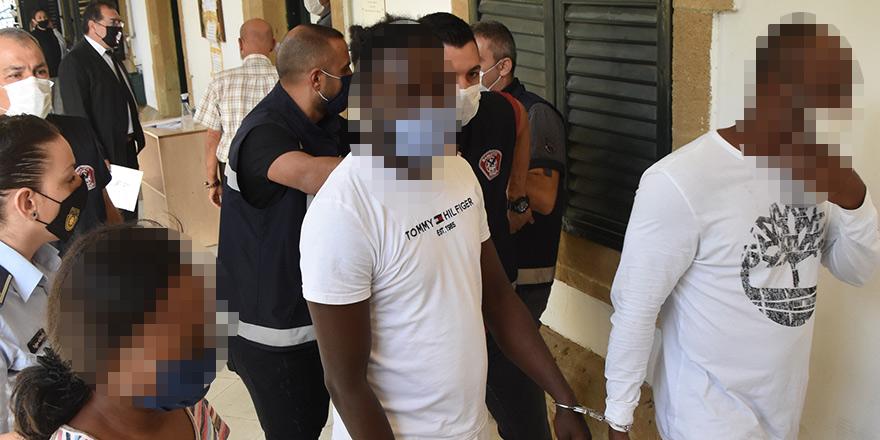 Gönyeli'de uyuşturucu operasyonu  5 tutuklu