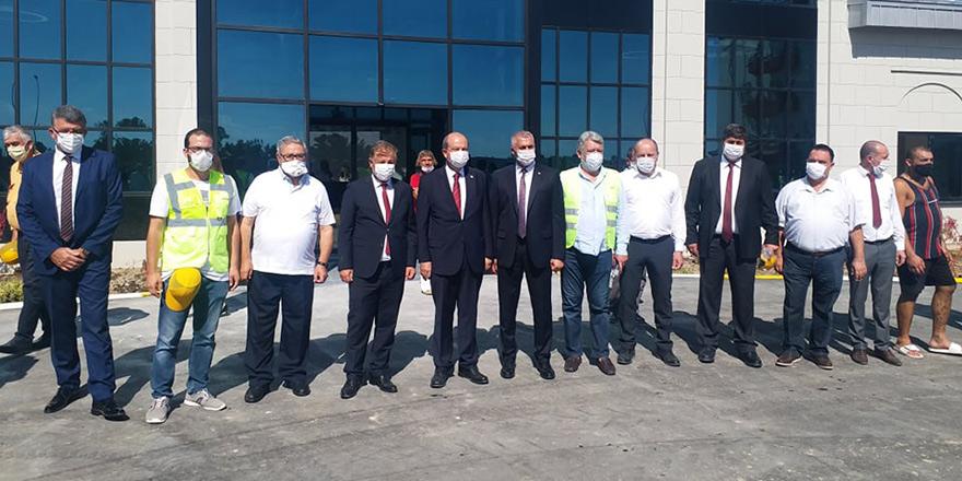 Yeni Pandemi Hastanesi'ne 'teknik' ziyaret
