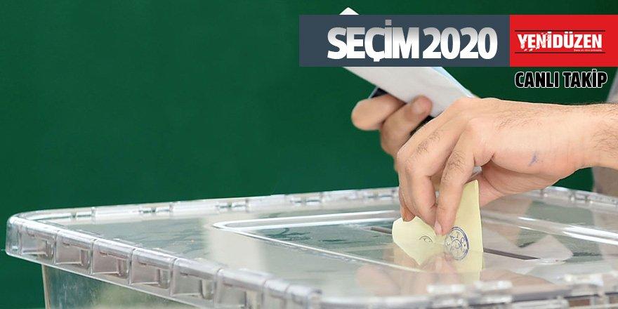 Saat 17: Seçime katılım % 61.03