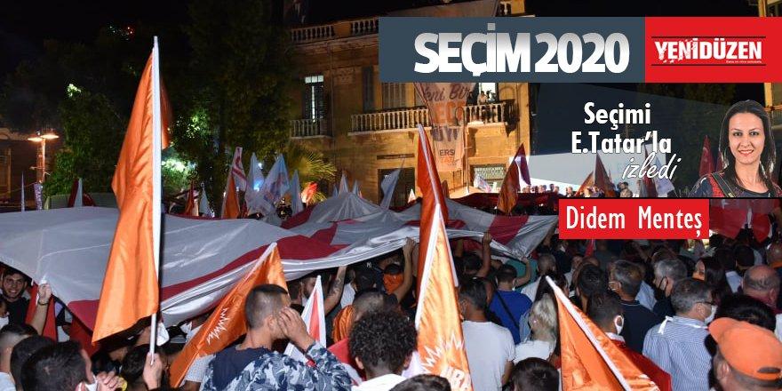 UBP seçim zaferini mitingle kutladı