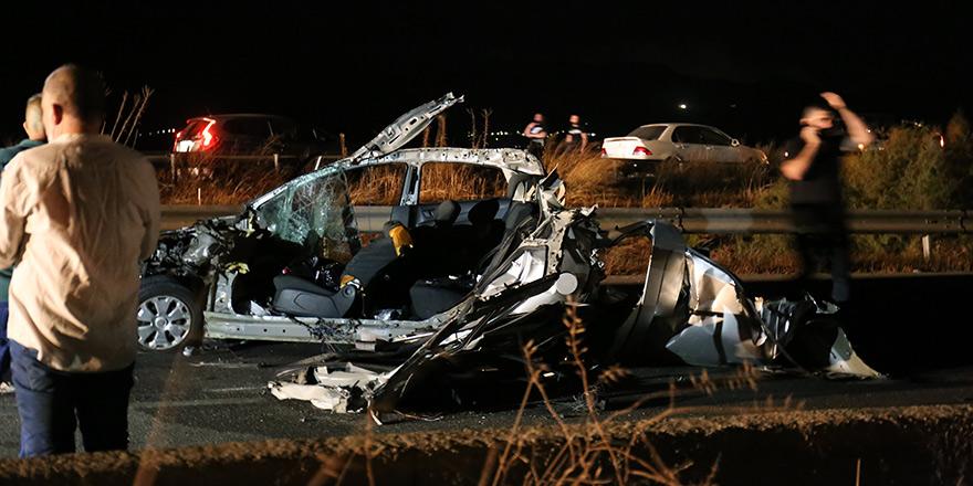 Trafikte acı bilanço: Bir haftada 4 ölüm