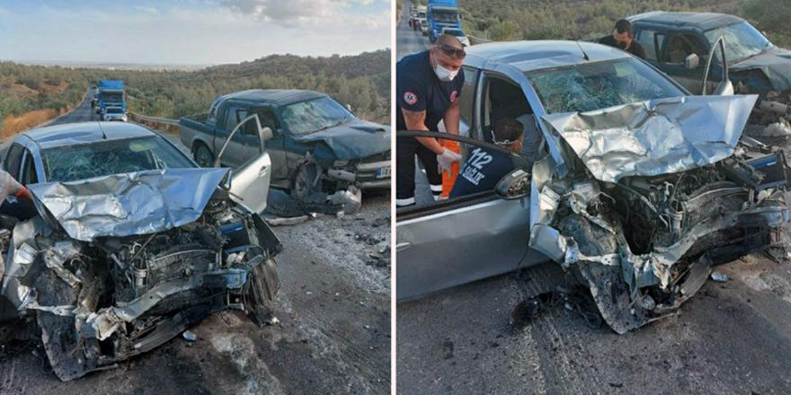 Dağyolu'nda korkutan kaza: 2 yaralı