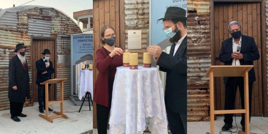 Kıbrıs'taki kamplarda ölen Yahudiler Larnaka'da anıldı