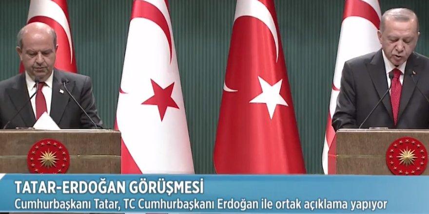 """Erdoğan: """"Federasyon seçeneği zaman kaybı"""""""