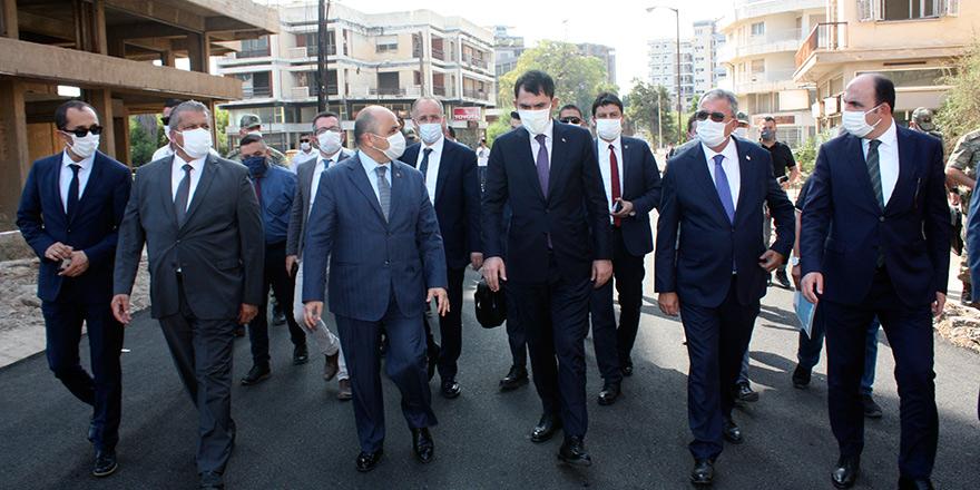 Türkiye Heyetleri Maraş'ta çalışıyor