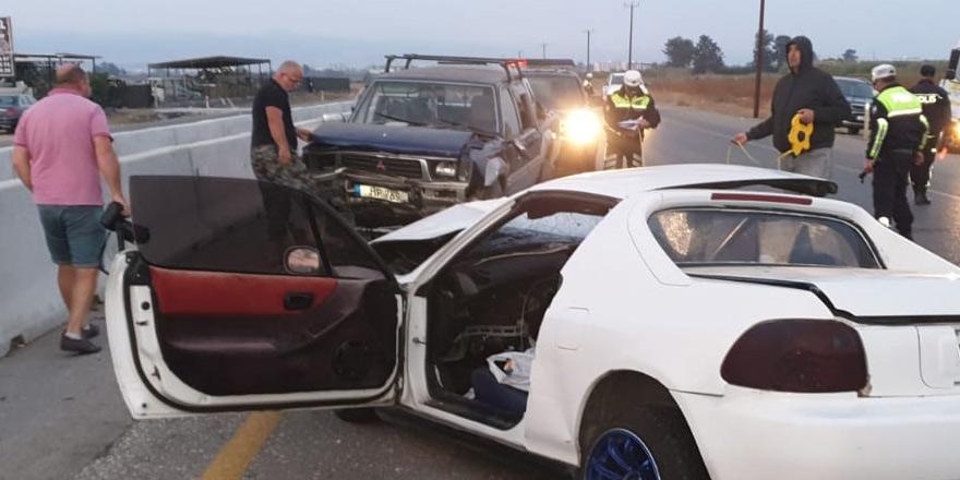 Bir haftada 50 trafik kazası