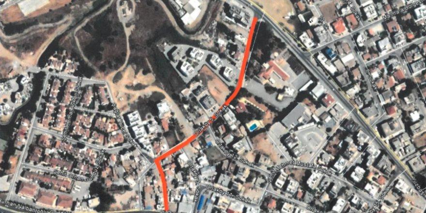 LTB Cuma günü Ortaköy kanalizasyon çalışması yapacak