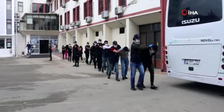 Kıbrıs'tan şikayet gitti, 48 kişi tutuklandı
