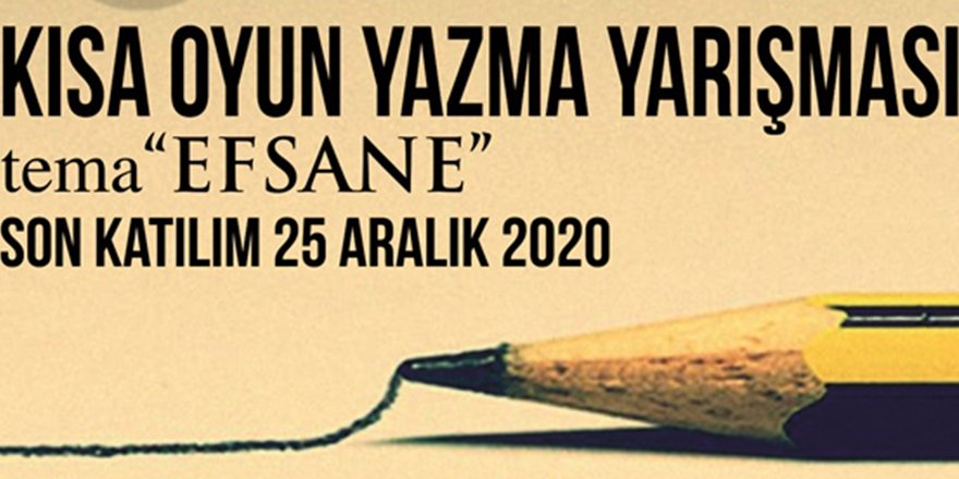 Çatalköy Belediyesi, Beşparmaklar kısa oyun yazma yarışması düzenliyor