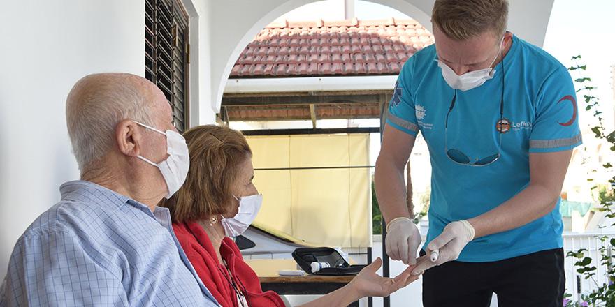 LTB, yaşlı üyelerine sağlık hizmetleri veriyor