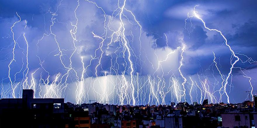 Fırtına ve sağanak için sarı alarm