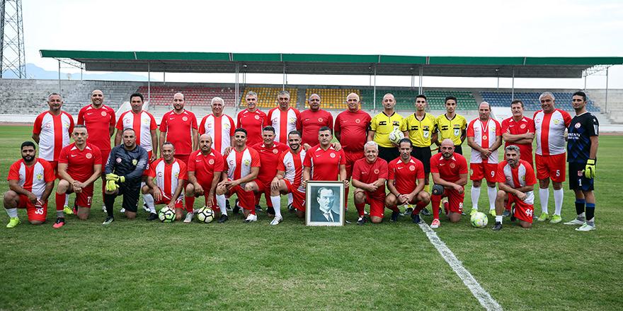 Meclis Kupası maçı oynandı