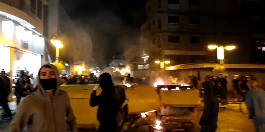 Limasol'da isyan: Sokaklar gerildi