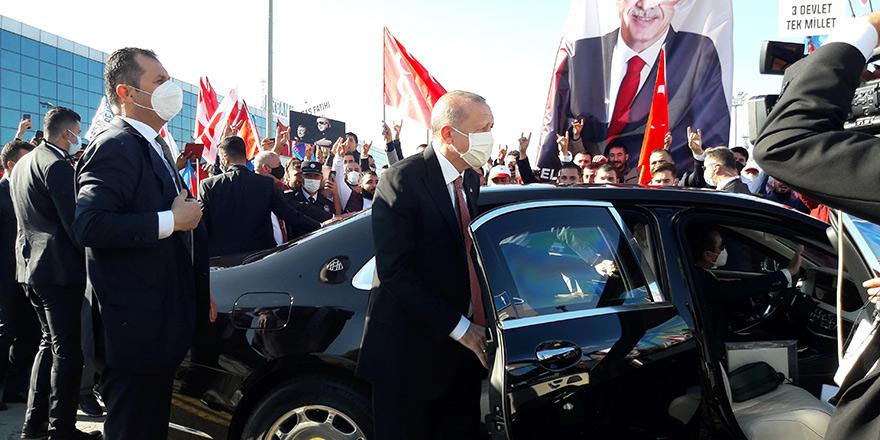 Erdoğan Kıbrıs'ta