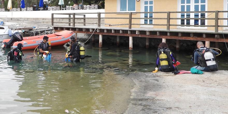 Balıkçı barınaklarında örnek temizlik