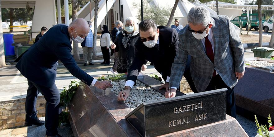 Kemal Aşık 31. ölüm yıldönümünde anıldı.