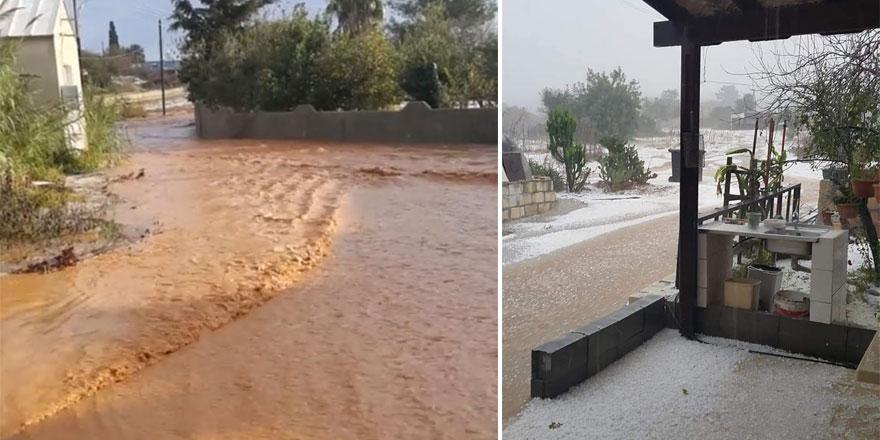 """""""Evleri su bastı, çokşiddetli bir yağıştı"""""""
