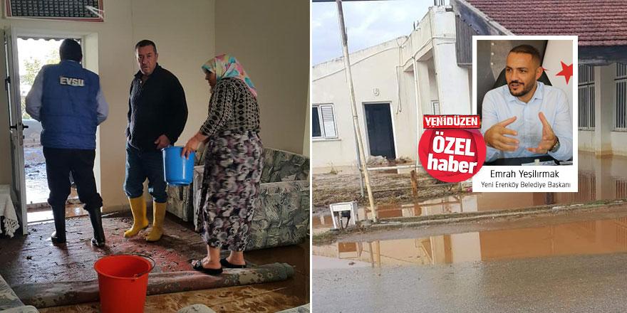 """""""Su baskınına uğrayan birçok ev var"""""""