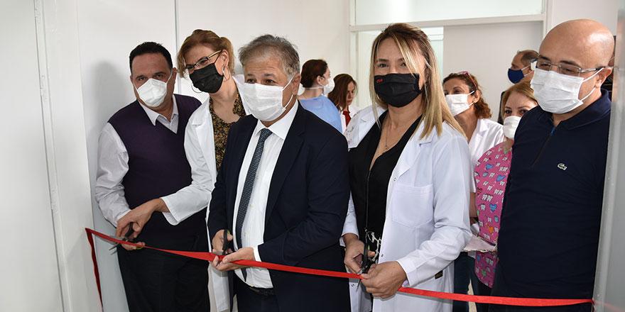 Diyabet Merkezi'nin üzerine yeni diş kliniği...