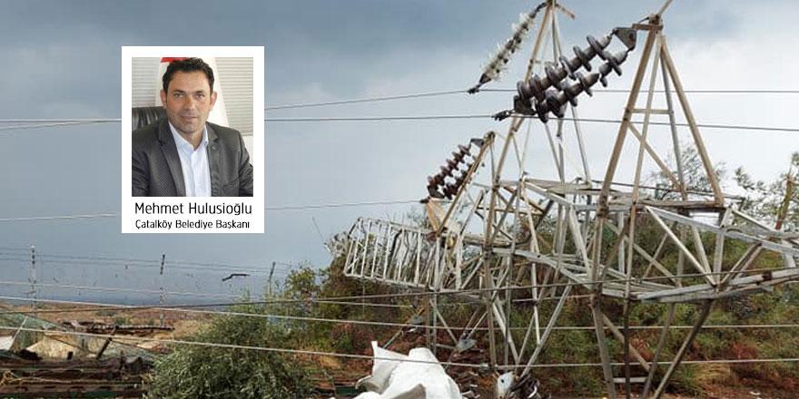Çatalköy Sanayi Bölgesi ve Esentepe hala elektriksiz