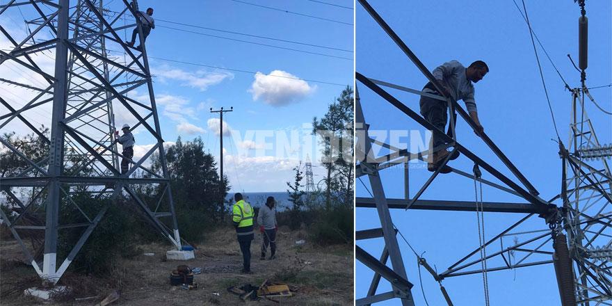 """Taçoy: """"Ozanköy, Karşıyaka gibi yerlere elektrik verilmeye başlandı"""""""