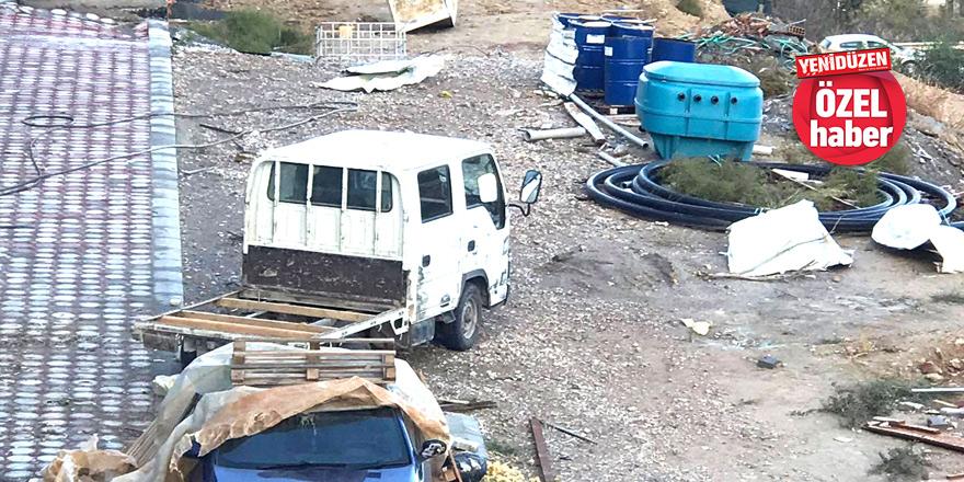 Çatalköy'de hasar büyük