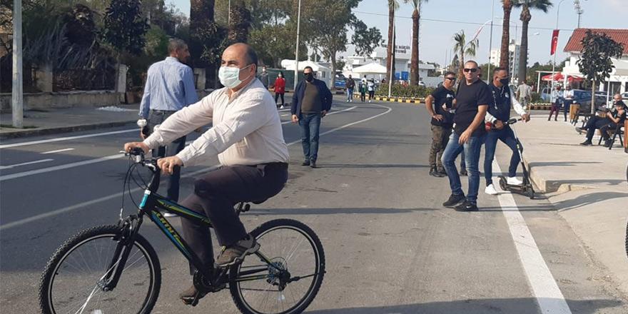 TC Büyükelçisi Başçeri Maraş'ta bisiklet sürdü