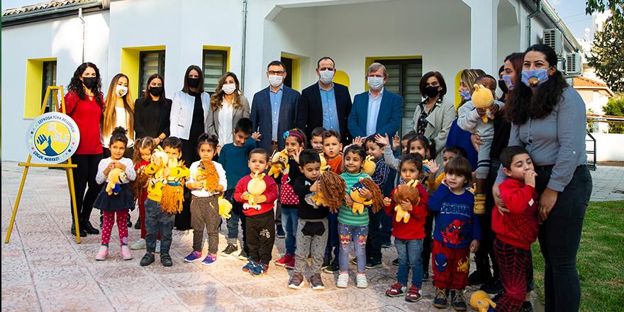 Çocuklar, 'El Ele Merkezi'ne kavuştu