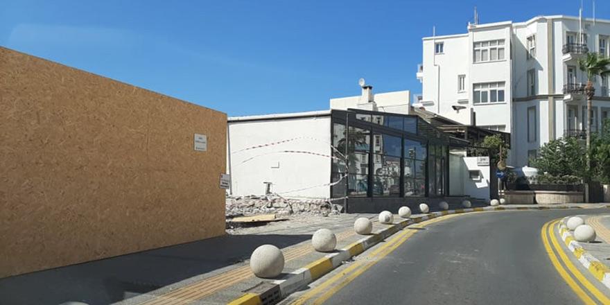 Girne'deki kaçak yapılara ara emri