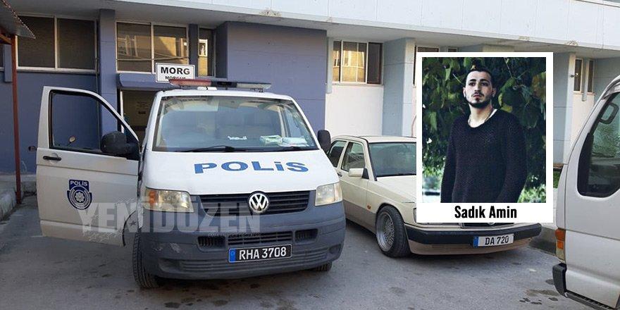 Cansız beden 24 yaşındaki Sadık Amin'in