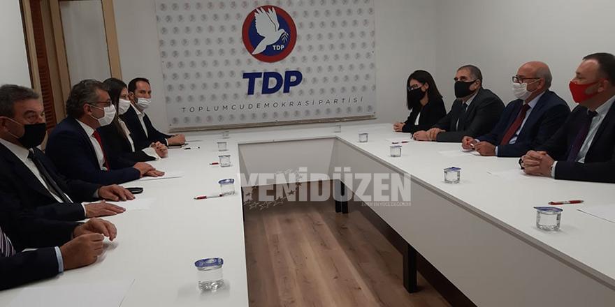 CTP heyeti TDP'de