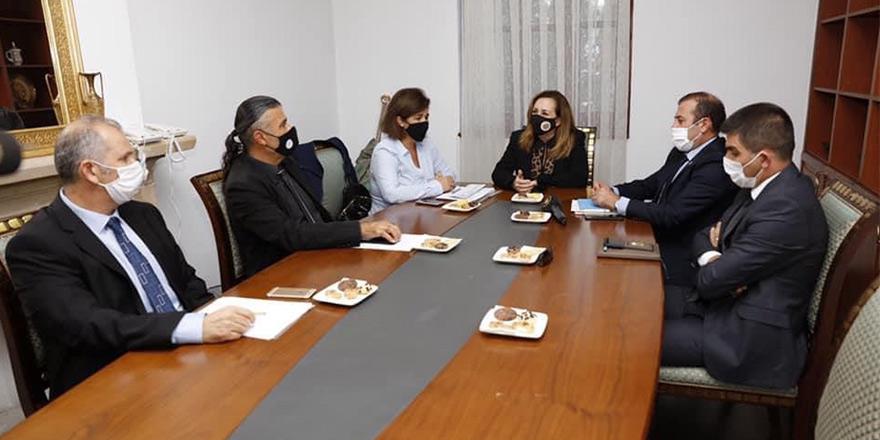 """Sibel Tatar başkanlığında """"Spor Komitesi"""" polemiği"""