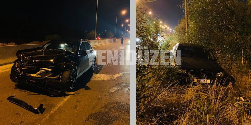 Lefkoşa-Girne yolunda kaza