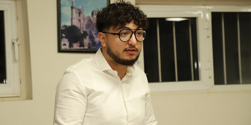Mağusa'da CTP Gençlik Örgütü Başkanı Hasan Can Sermet oldu
