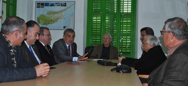 Arabacıoğlu, ÇEKOVA'yı ziyaret etti…