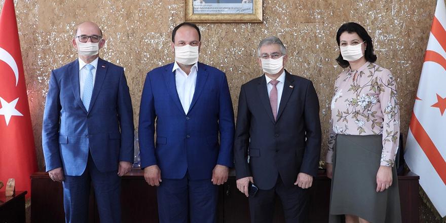 Limasol Bankası'ndan Sadıkoğlu'na ziyaret