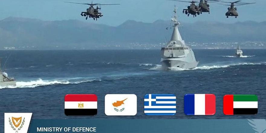 5 ülkenin Akdeniz'de başlattığı ortak tatbikata Türkiye'den tepki