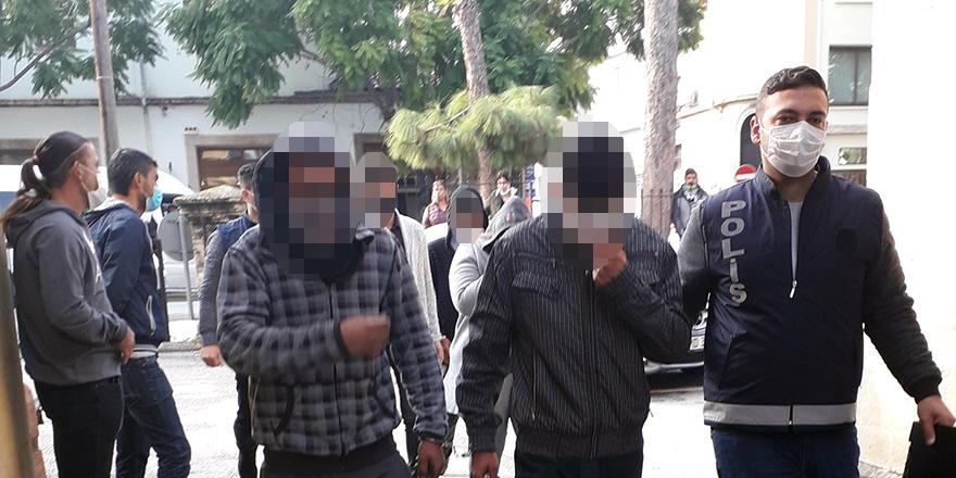 İnşaat malzemesi hırsızlığından 3 tutuklu