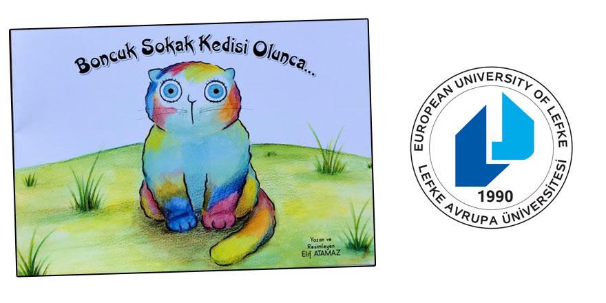 Elif Atamaz'dan Kemal Saraçoğlu Vakfı'na çocuk kitabı bağışı