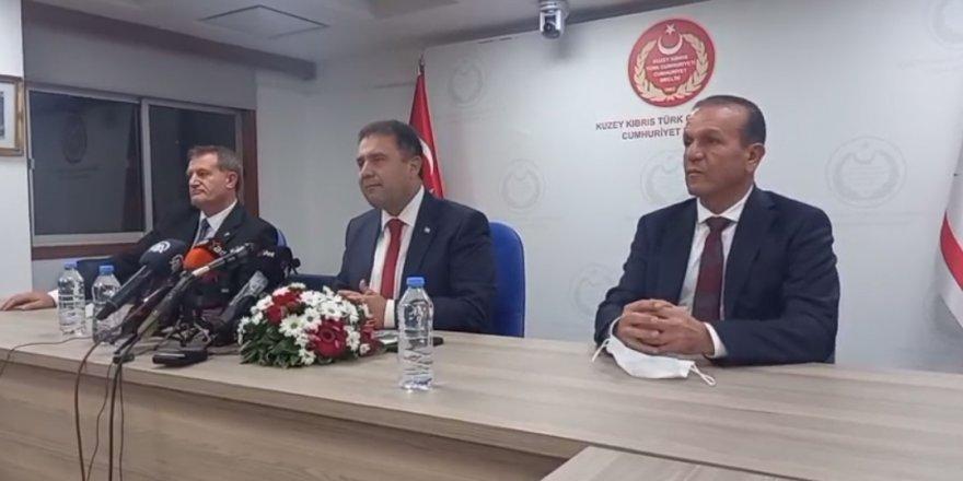 UBP- DP-YDP Azınlık Hükümeti Protokolü imzalandı