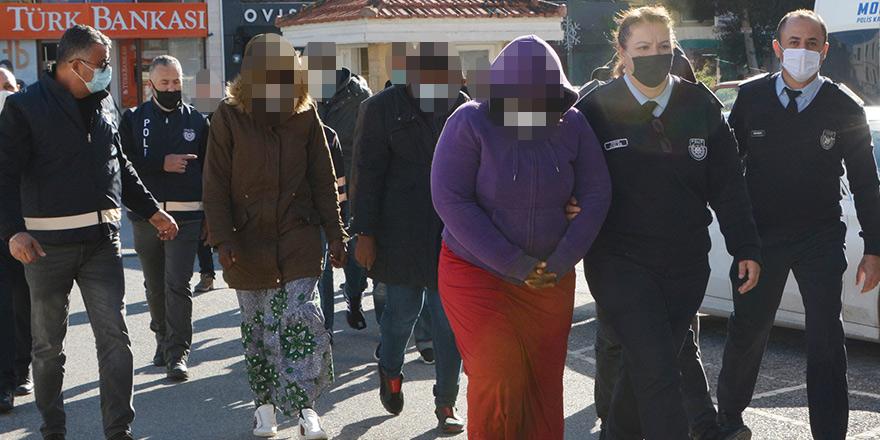 13 kişiyi yasa dışı yollardan kaçıracaktı