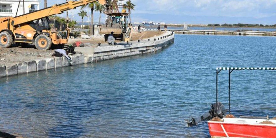 Laguna Balıkçı Barınağı'nda sona geliniyor