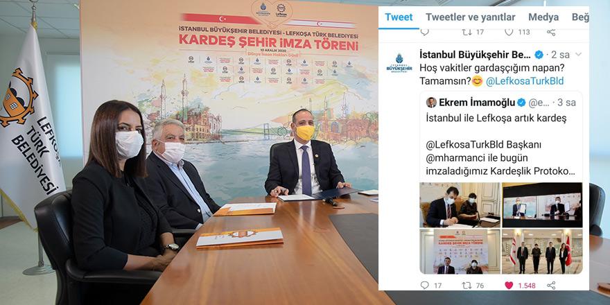İstanbul'dan Lefkoşa'ya: Gardaşcığım napan, tamamsın?