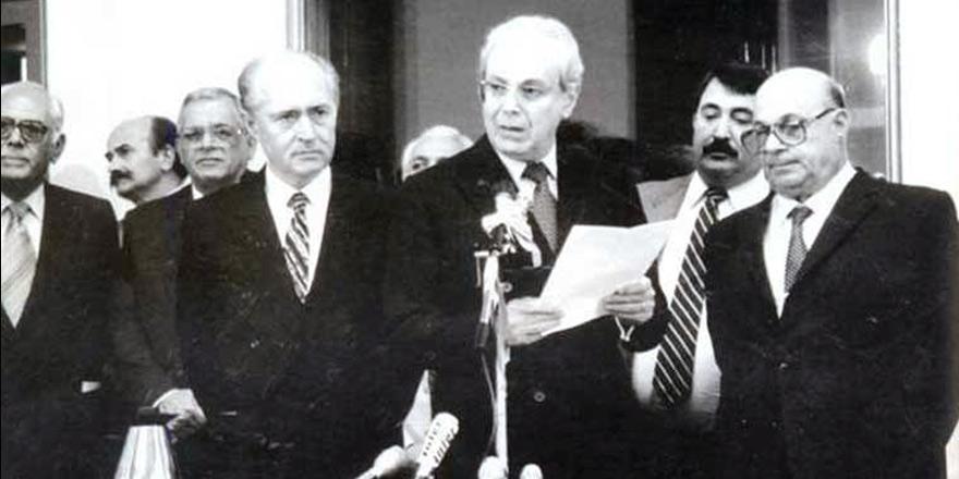 1990 Yılında Sunulan 27 Sayfalık Türk Önerileri